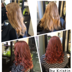 colored haircut, Salt Lake City hair salon, hair studio