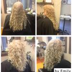 curly haircut, Salt Lake City hair salon, hair studio