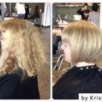 Straight haircut, Salt Lake City hair salon, hair studio