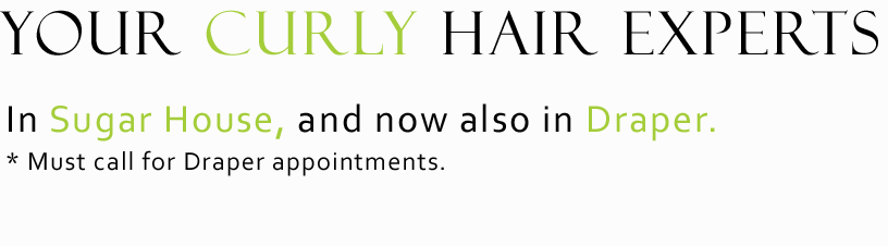 curly hair experts, salt lake hair salon, draper hair salon, utah hair salon, curly hair salon